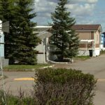 Residents Midfield Mobile Home Park Northeast Calgary Set