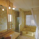 Retro Mobile Home Bathroom Manufactured Homes Pinterest