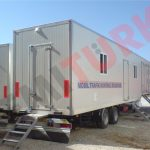 Road Show Mobile Home Office Semi Trailer