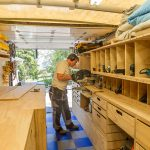 Ron Paulk The Design His Mobile Woodshop Part Core