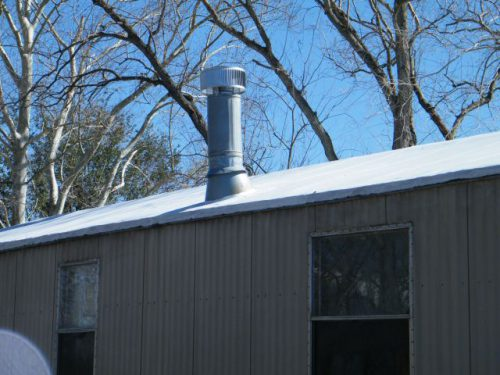 Roof Built Flat Metal Mobile Home Single Double Wide