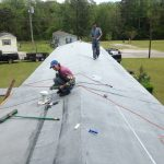 Rubber Roofing Roof For Mobile Home