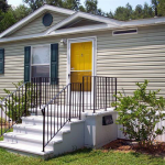 Safe Porch Designed For Mobile Homes Perfect And