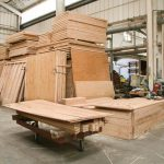 Simple Post And Beam Prefab Live Edge Walls Find