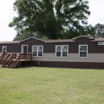 Single Wide Mobile Home Exterior She Built New Around Pictures