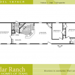 Single Wide Mobile Home Floor Plans Bedroom Cavco Homes Plan