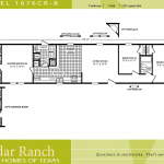 Single Wide Mobile Home Floor Plans Bedroom Cavco Homes Wides