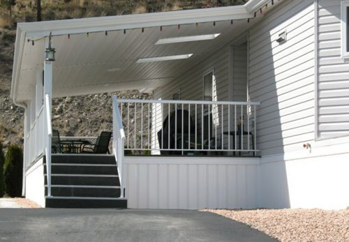 Skirting Mobile Homes This Example Home