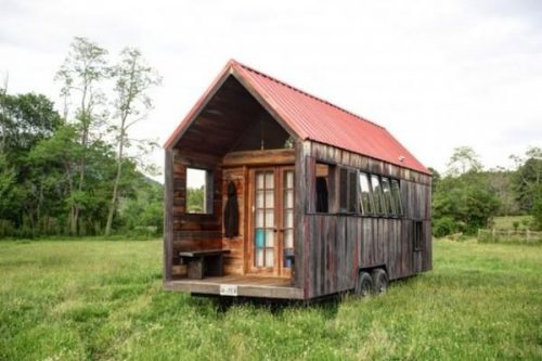 Small Homes Wheels House Design Mobile Pocket