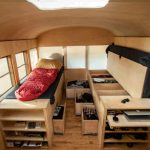Smart Storage Space Inside The Mobile Bus Home Decoist