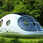 Solar Power Powered Pod Mobile Lounge Home Off