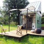 Solar Powered Pod Idladla Tiny Flat Pack Home For Two That Lets