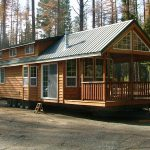 Spacious Cabin Wheels Large Windows Tiny House Pins