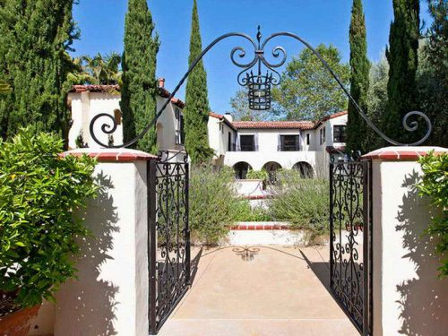 Spanish Style Luxury Homes Gate