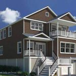 Standard Modular Built Beach Home Site View Floor Plans Brick
