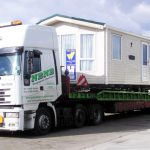Static Caravan Transport Mobile Home Haulage