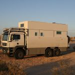 Stealthy Luxury Mobile Home Disguises Itself Dump Truck