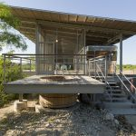 The Rest Structure Comprised Deck Glassed Porch And
