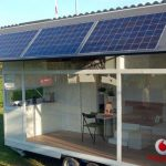 The Vodafone Solar Powered Mobile Home