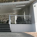 This Example Mobile Home Skirting Vinyl Homes Ideas