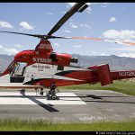 Unmanned Max Helicopter Demonstrates Firefighting Capabilities