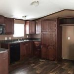 Used Clayton Single Wide Mobile Home Kitchen