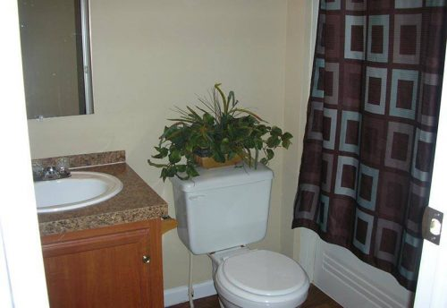 Used Palm Harbor Double Wide Mobile Home Bathroom