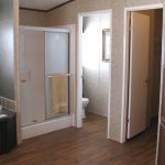 Walk Shower And Enclosed Toilet Best Low Priced Mobile Modular