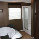 Walk Shower The Master Bathroom Pecan Valley Manufactured