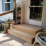 Wooden Mobile Home Porch Steps Decks Pinterest