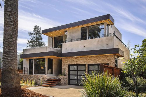 World Architecture Contemporary Style Home Burlingame