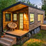 Beautiful House Built Flatbed Trailer Home Design Garden Architecture Blog