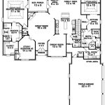Bedroom Bath Traditional House Plan Two Master Suites