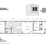 Best Floor Plans Pinterest Mobile Home Bedroom Bath Single