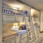 Bright White Bunk Bed Ideas Wall Lights