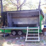 Buy Sell New Used Trailers Cargomate Mobile Stage Trailer