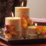 Centerpiece Kitchen Table Candle Ideas Centerpieces Using