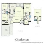 Charleston Homes Floor Plans Exterior Ryland