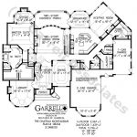 Chateau Montauban House Plan Estate