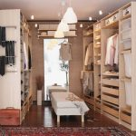 Closets Awesome Ikea Walk Closet Design Wooden Style Floor Ceiling Lamps
