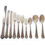 Cluny Gorham Sterling Silver Flatware Set Service Pcs World