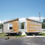 Double Wide Home Split Preparation Hauled Out Closing Mobile