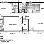 Double Wide Mobile Home Floor Plans Single Trailer