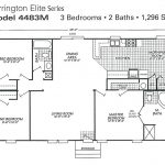 Double Wide Mobile Home Plan
