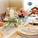 Easter Holiday Ideas Table