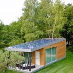 Eco Friendly Home Green Zero House Modern Design Decor