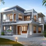 Elegant Modern Home Plans Collection Including Enchanting Kerala Design