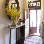 Entryway Narrow Tables Simple Home