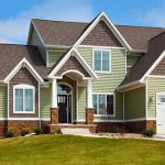 Exterior Brick Siding House Vinyl Colors Window