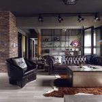 Fabulous Marvel Heroes Themed House Cement Finish Industrial